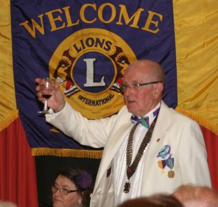 2016 Charter Night Lions President Colin Rickman