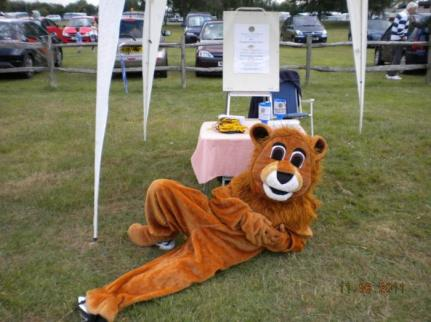 Selsey Lion Takes it easy
