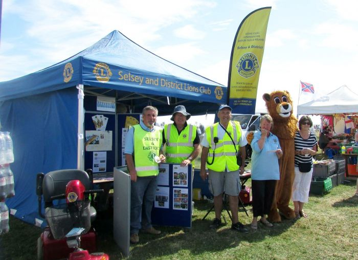 Lions Stall at Lifeboat Day 2015