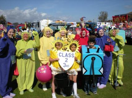 Lions ladies at the Selsey Carnival