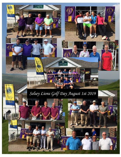 Selsey Golf Day Collage 2019